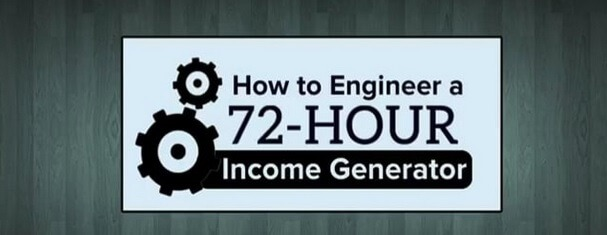 72 Hour Income Generator Program money