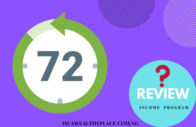 72 Hour Income Generator Program money
