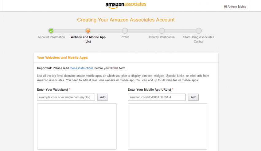 Amazon affiliate marketing in Nigeria