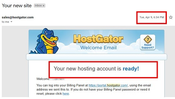 Start A Blog With HostGator