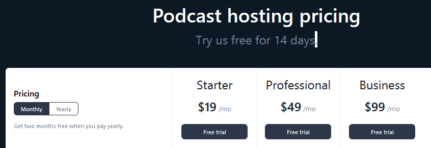 Best Free Podcast Hosting Service-