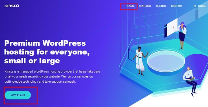 Start a Blog with Kinsta