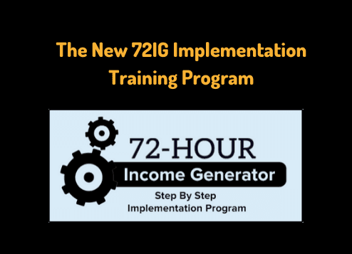 The New 72IG Implementation Training Program