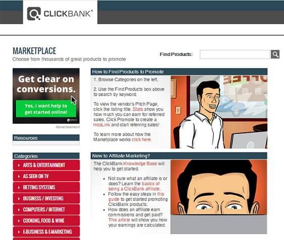 LATEST clickBank Marketplace
