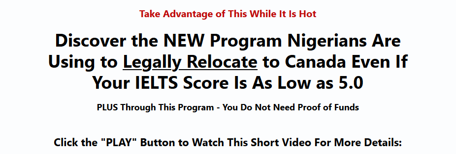 Expertnaire Products Ultimate Move to Canada With Low IELTS Guide