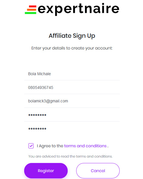Join Expertnaire as an Affiliate