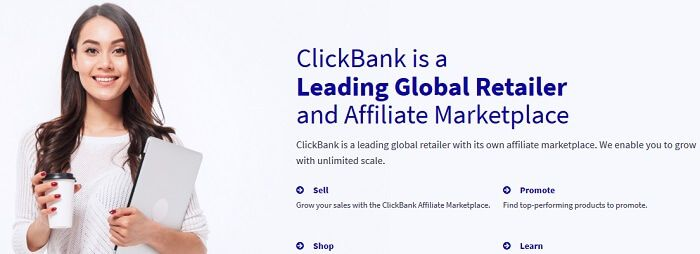 Start Affiliate Marketing with Clickbank today