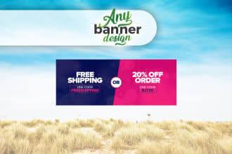 Fiverr freelanCe gig examples-Banner Ads Design