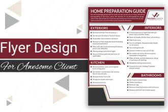 Fiverr freelanCe gig examples-Flyer Design 2