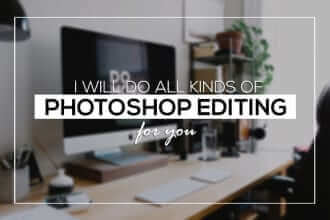 Fiverr freelanCe gig examples-Photoshop Editing