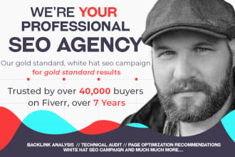 SEO services with Fiverr freelancing