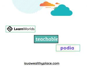 podia vs thinkific vs teachable
