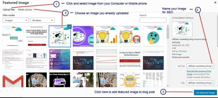 add image to blog-Start a Blog in Nigeria