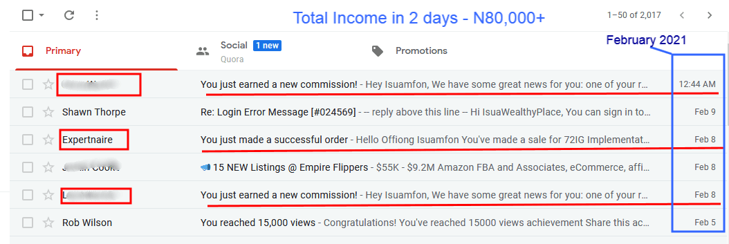 Expertnaire product income