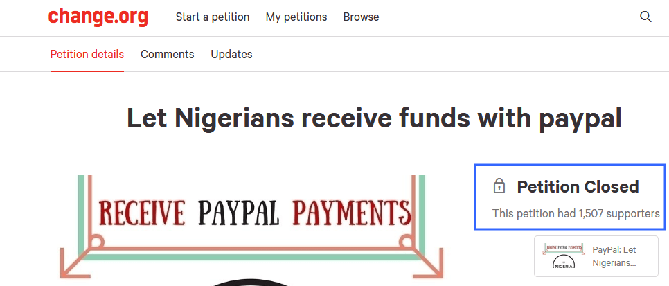 can you withdraw money from paypal in nigeria