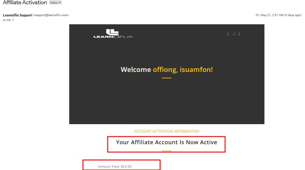 learnoflix affiliate login