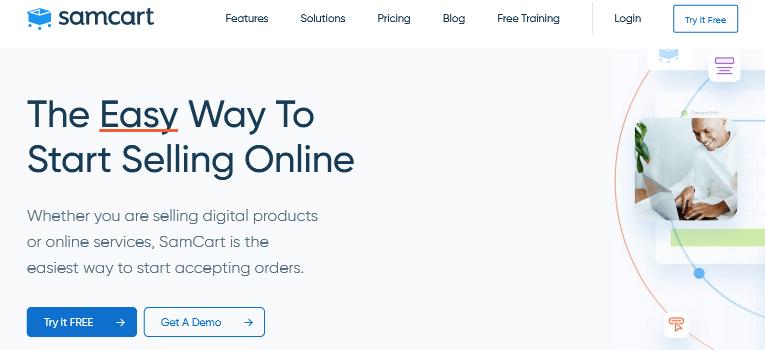 SamCart Digital Product eCommerce Platform